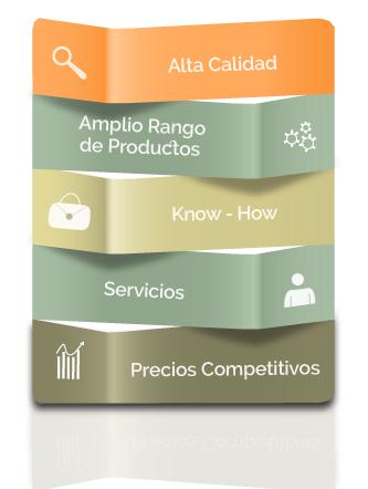 infografía misión y estrategia