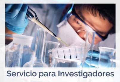 servicio para investigadores